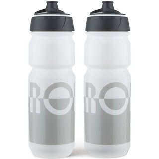 Rondo Bidon 2 x 750 ml Set, grey/white - Trinkflasche