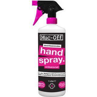 Muc-Off Antibacterial Sanitising Hand Spray - 1 Liter
