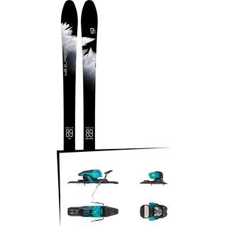 Set: Icelantic Sabre 89 2018 + Salomon Warden 11 turquoise/black