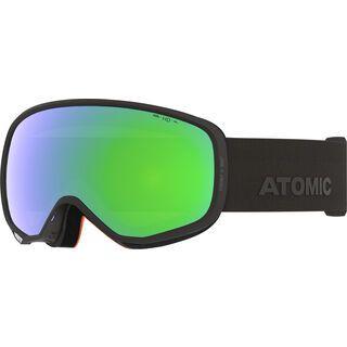 Atomic Count S 360° HD, black/Lens: green hd - Skibrille