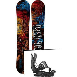 Set: Lib Tech From Hell Skate Banana 2017 + Flow Fuse Hybrid (1718360S)