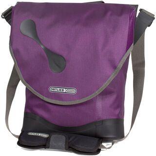 Ortlieb City-Biker QL3.1, violett - Fahrradtasche