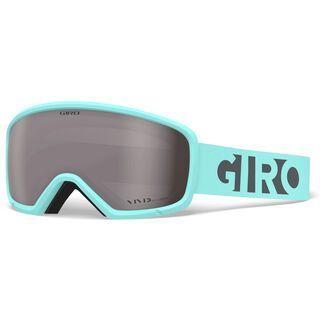 Giro Millie, cool breeze charcoal blocks/Lens: vivid onyx - Skibrille