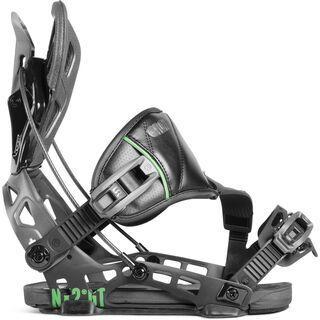 Flow NX2-GT Hybrid 2019, black - Snowboardbindung