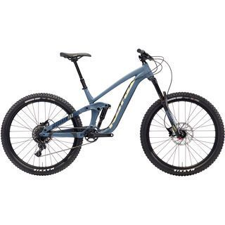 Kona Process 153 AL 27.5 2018, blue/yellow - Mountainbike