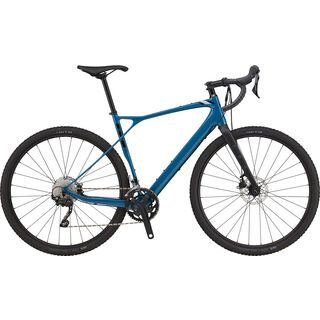 GT Grade Carbon Elite 2021, dusty blue - Gravelbike