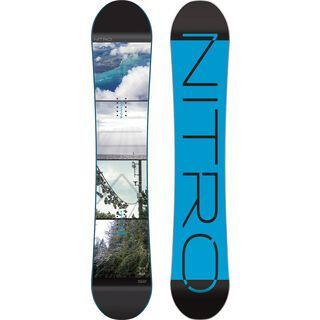 Nitro Team Exposure Gullwing Wide 2016 - Snowboard