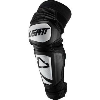 Leatt Knee & Shin Guard 3DF Hybrid EXT Junior, white/black - Knie/Schienbeinschützer
