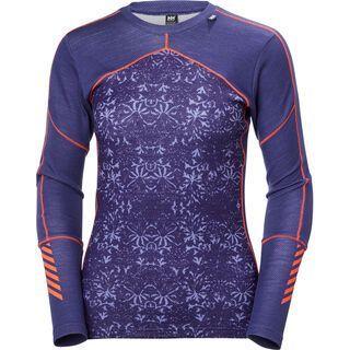 Helly Hansen W HH Lifa Merino Crew, lavender - Unterhemd