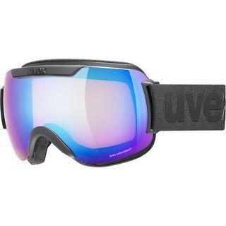 uvex downhill 2000 CV, black mat/Lens: mirror blue - Skibrille