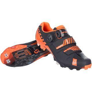 Scott MTB Premium, black neon orange gloss - Radschuhe