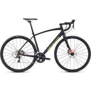 Specialized Diverge Sport A1 CEN 2017, black/red/hy green - Gravelbike