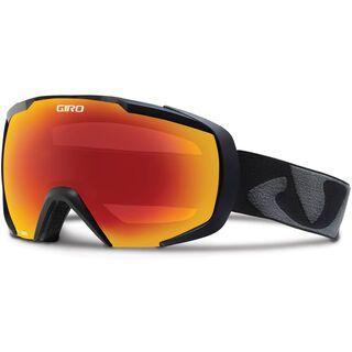 Giro Onset, black icon/Lens: amber scarlet - Skibrille
