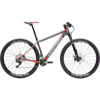 Cannondale F-SI Carbon 3 29 2016, grey/red - Mountainbike