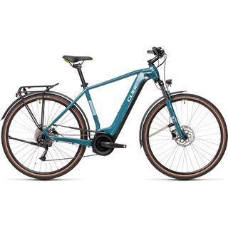 Cube Touring Hybrid ONE 625 2021, blue´n´green - E-Bike