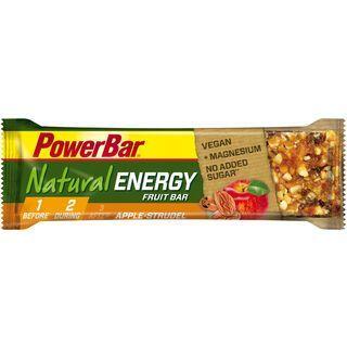 PowerBar Natural Energy Fruit Bar (Vegan) - Apple Strudel - Energieriegel
