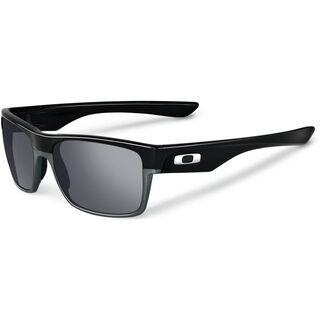 Oakley Two Face, polished black/Lens: black iridium - Sonnenbrille