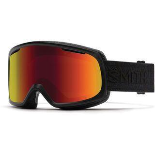 Smith Riot inkl. Wechselscheibe, black/Lens: red sol-x mirror - Skibrille