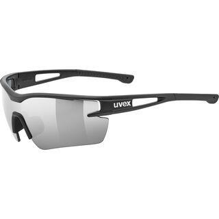 uvex sportstyle 116 inkl. WS, black mat/Lens: litemirror silver - Sportbrille