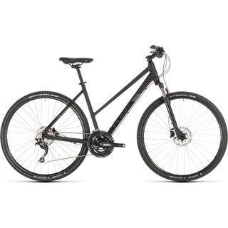 Cube Nature EXC Trapeze 2019, black´n´grey - Fitnessbike