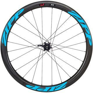 Zipp 303 Firecrest Tubular Disc-brake, schwarz/blau - Hinterrad