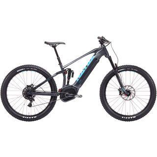Kona Remote Ctrl 2019, charcoal w/ blue & black - E-Bike