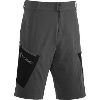 Cube Tour Shorts, grey´n´black - Radhose
