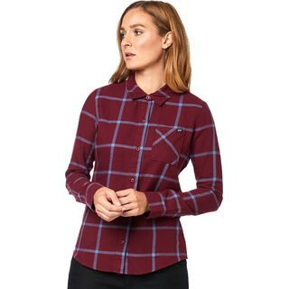 Fox Roost Flannel cranberry