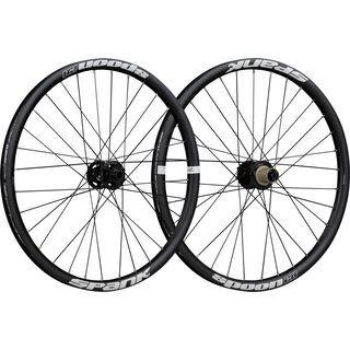 Spank Spoon 28-24 Wheelset, black - Laufradsatz
