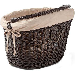 Creme Cycles Wicked Basket Big, brown - Fahrradkorb