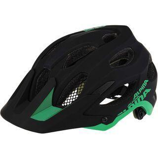 Alpina Carapax, black green - Fahrradhelm