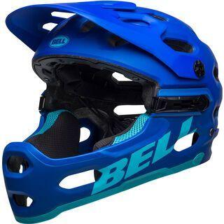 Bell Super 3R MIPS, blue - Fahrradhelm
