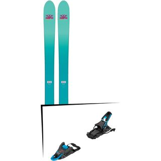 Set: DPS Skis Nina F99 Foundation 2018 + Salomon S/Lab Shift MNC blue/black