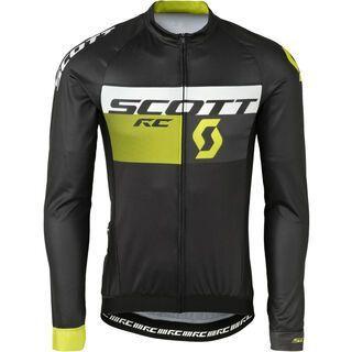 Scott RC Pro l/sl Shirt, black/yellow - Radtrikot