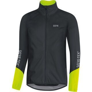 Gore Wear C5 Gore-Tex Active Jacke, black/neon yellow - Radjacke