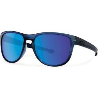 Oakley Sliver Round, matte crystal blue/Lens: sapphire iridium - Sonnenbrille