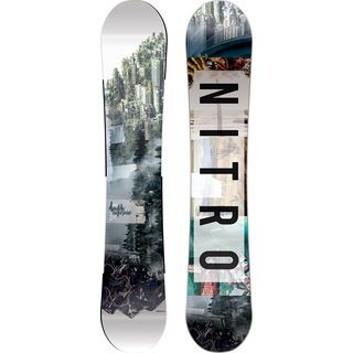 Nitro Team Exposure Gullwing 2017 - Snowboard