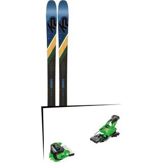 Set: K2 SKI Wayback 84 2019 + Tyrolia Attack² 13 GW green