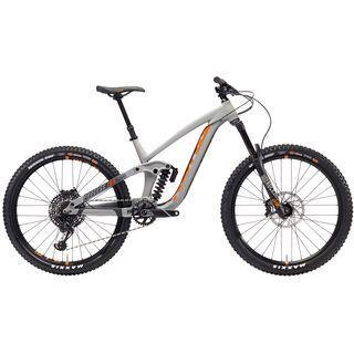 Kona Process 165 2018, gray/charcoal/orange - Mountainbike