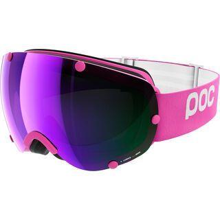 POC Lobes, ethylene pink/Lens: grey purple mirror - Skibrille