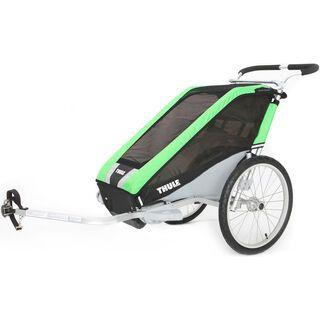Thule Chariot Cheetah 1 inkl. Fahrrad-Set, grün - Fahrradanhänger