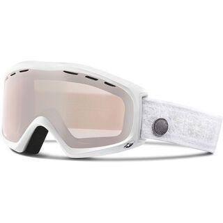 Giro Siren, white nordic/rose silver - Skibrille