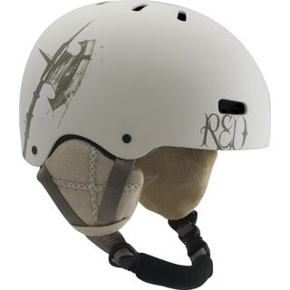 RED Trace Grom, White - Snowboardhelm