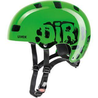 uvex kid 3, dirtbike green - Fahrradhelm