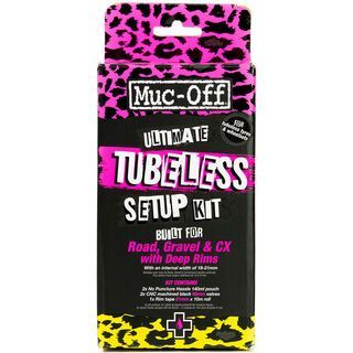 Muc-Off Ultimate Tubeless Setup Kit Road (60 mm)