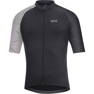 Gore Wear C7 Trikot, black/white - Radtrikot