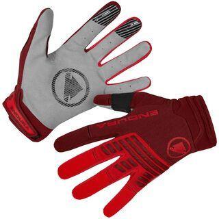 Endura SingleTrack Glove, rust red - Fahrradhandschuhe