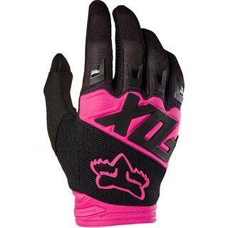 Fox Dirtpaw Race Glove, black/pink - Fahrradhandschuhe