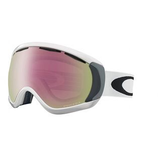 Oakley Canopy Prizm, matte white/Lens: hi pink iridium - Skibrille