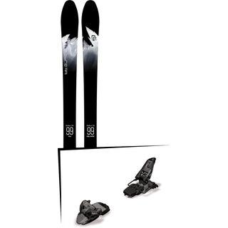 Set: Icelantic Sabre 99 2018 + Marker Squire 11 black anthracite